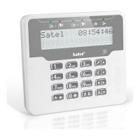 Tastatura alarma Satel VERSA-LCDR-WH, Afisaj LCD, Cititor proximitate integrat, Compatibila VERSA/VERSA Plus
