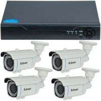 D1-304.P, 4-in-1, HD 720p, 4 camere Bullet UB-601, Exterior