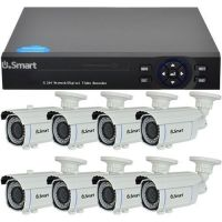 D1-308.P, 4-in-1, HD 720p, 8 camere Bullet UB-601, Exterior