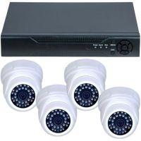 D1-304V3.P, AHD, HD 720p, 4 camere Dome RLG-D1FM3, Interior
