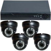 D1-304V3.P, AHD, HD 720p, 4 camere Dome Varifocale RLG-D1VM, Interior