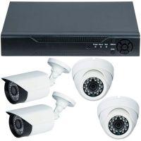 D1-304V3.P, AHD, HD 720p + 4 Camere mixte RLG-B1FM si RLG-D1FM2, Exterior/Interior
