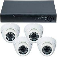 D1-304V3.P, AHD, HD 720p, 4 camere Dome RLG-D1FM2, Interior