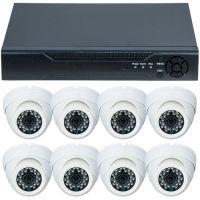 D1-308V3.P, AHD, HD 720p, 8 camere Dome RLG-D1FM2, Interior
