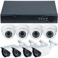 D1-308V3.P, AHD, HD 720p + 8 Camere mixte RLG-B1FM si RLG-D1FM2, Exterior/Interior