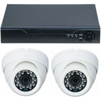 D1-304V3.P, AHD, HD 720p, 2 camere Dome RLG-D1FM2, Interior