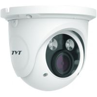 Camera de supraveghere TD-9525S1H(D/FZ/PE/AR2), Dome, 2MP, CMOS Sony 1/3 inch, 2.8-12mm, 2 LED Array, IR 30M, Starlight, PoE, Carcasa metal