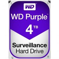 Hard Disk Western Digital Purple Surveillance 4TB SATA 3 64MB 5400RPM