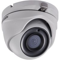DS-2CE56H5T-ITM, TVI, Dome, 5MP, 2.8mm, EXIR, IR 20m, D-WDR, IP67, Carcasa metal
