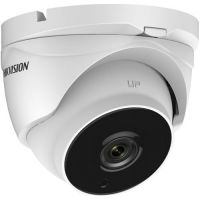 DS-2CE56H5T-IT3, TVI, Dome, 5MP, 2.8mm, EXIR, IR 40m, D-WDR, IP67, Carcasa metal