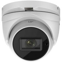 DS-2CE56H5T-IT3Z, TVI, Dome, 5MP, 2.8-12mm, EXIR, IR 40m, Zoom motorizat, Carcasa metal