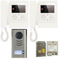 Kit Videointerfon V-tech DT592D4, doua fire, pentru doua familii