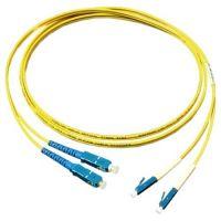 Patchcord fibra optica, LC/SC 9M DX, Lungime 3m