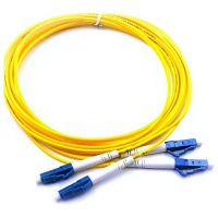 Patchord fibra optica, LC/LC 9M DX, Lungime 3m
