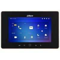 VTH5221D, LCD 7 inch, Rezolutie 1024x600, Slot SD, Wi-Fi, PoE, Negru