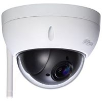 Camera de supraveghere Dahua SD22204T-GN-W, Dome PTZ, 2MP 1080P, CMOS 1/2.7'', 2.7-11mm, Wi-Fi, WDR 120dB, IP66/IK10, Carcasa metal
