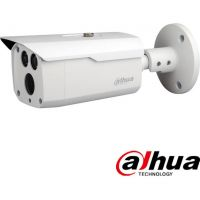 HAC-HFW1500D-0360B HD-CVI, Bullet, 5MP, CMOS 1/2.7'', 3.6mm, 2 LED, IR 80m, IP67, carcasa metal
