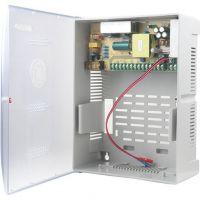 Accesoriu supraveghere STD-XZS120-12-9, 12V DC 10A, iesiri 9x1.1A, cutie ABS fireproof cu Back Up (17AH BAT)