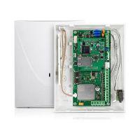 Comunicator Satel GSM-X LTE, Comunicator universal GSM 4G, Dual SIM(nano-SIM), 8 intrari programabile, carcasa OPU-2 B, Antena LTE inclusa
