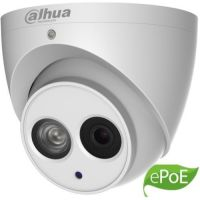 IPC-HDW4431EM-ASE-0280B, Dome Eyeball IP 4MP, CMOS1/3, H.265+, 25/30fps@4M. 2.8mm, IR 50m, WDR 120dB, Built-in Mic, MicroSD128GB, IP67, ePoE, Carcasa metal