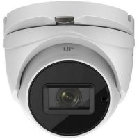 DS-2CE79U8T-IT3Z, TurboHD Dome 8MP, zoom motorizat 2.8-12mm, IR 80m, IP67