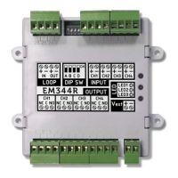 EM344R, Modul adresabil 4 intrari supervizate /4 iesiri releu
