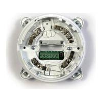 Sirena adresabila INIM ESB1021 cu soclu, indicator alarma vizual-acustica, IP21