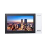 VTH2421FB, IP touch screen 7 inch 1024x600, IPC surveillance, Audio bidirectional, Alarma 6/1, negru