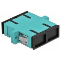 Accesoriu retelistica AD-SC/SC-DX-10G Adaptor fibra optica SC-SC MM DX OM3