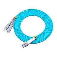 Accesoriu retelistica LC/SC-3M-10G-D Patch cord fibra optica LC-SC MM DX OM3, 3m