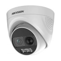 DS-2CE72DFT-PIRXOF28 Dome Turbo HD 4-in-1, ColorVu 2MP CMOS, 2.8mm, detectie PIR, alarma audio si flash, IP67