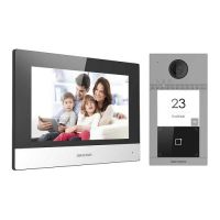 Kit Videointerfon Hikvision DS-KIS604-S Wi-Fi pentru o familie