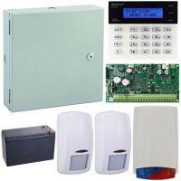 Kit antiefractie Secolink KIT-SEK-2, wireless P16 + tastatura + cutie + 2 detectori + sirena exterior + acumulator