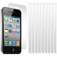 Bundle 10 folii de sticla 0.3mm pentru Apple iPhone 4/4s