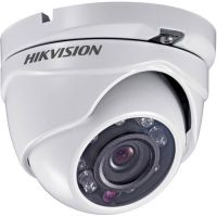 DS-2CE55C2P-IRM, CVBS, Dome, 720 TVL, 2.8mm, 8 LED, IR 20m, Rating IP66, Low Light