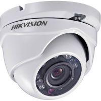 DS-2CE55C2P-IRM, CVBS, Dome, 720 TVL, 2.8mm, 8 LED, IR 20m, Rating IP66, Low Light