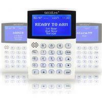 Tastatura alarma Secolink KM24, LCD, grafica 128x64 puncte