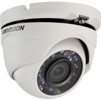 DS-2CE56C0T-IRM, TVI, Dome, 1MP, 2.8mm, 24 LED, IR 20m, Carcasa metal