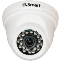 UD-405, AHD, Dome, 1MP 720P, CMOS OV 1/4 inch, 2.8mm, 24 LED, IR 20m, Carcasa plastic