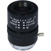 Accesoriu supraveghere PXW Lentila CCD 1/3 Inch, f:3.5-8mm